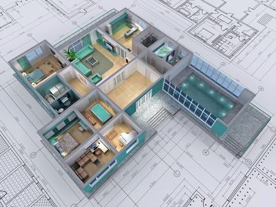 3D Grundrisse